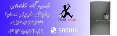 تعمیرات یخچال اسنوا در اصفهان